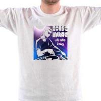 T-shirt House Music