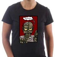 T-shirt Hungry Zombie Says