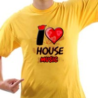 T-shirt I Love House Music | House | Music