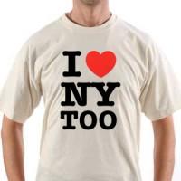 T-shirt I Love Ny Too