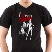 T-shirt I Love Police Brutality | Police | Police | Brutality