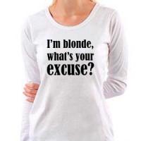 T-shirt I M Blonde