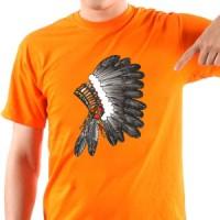 T-shirt Indian feather headdress