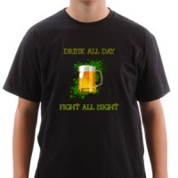 T-shirt Irish Beer