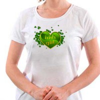 T-shirt Irish Girl