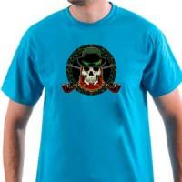 T-shirt Irish Skull