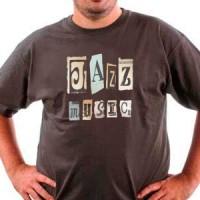 T-shirt Jazz Music
