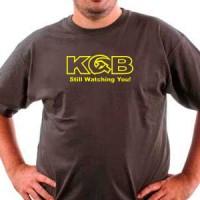 T-shirt Kgb