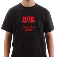 T-shirt Kgb Is Still Here
