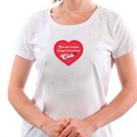T-shirt Lace heart 1 by Jvncc