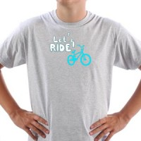 T-shirt Let's Ride