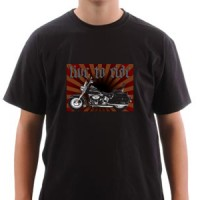 T-shirt Live To Ride