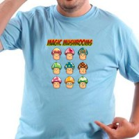T-shirt Magic Mushrooms