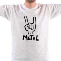 T-shirt Metal