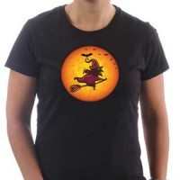 T-shirt Moon Witch