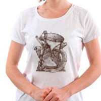 T-shirt Mystic Hourglass