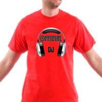 T-shirt Official Dj