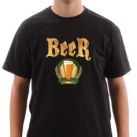 T-shirt Old Beer
