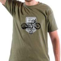 T-shirt Old Biker
