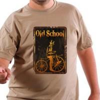 T-shirt Old School Biker