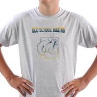 T-shirt Old School Boxing