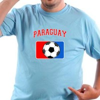 T-shirt Paraguay Football
