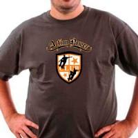 T-shirt Power Action Skate Club