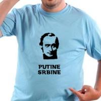 T-shirt Putin the Serb.