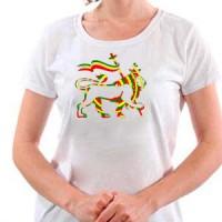 T-shirt Rasta Lion