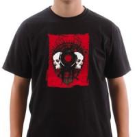T-shirt Red Skulls