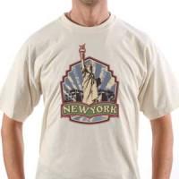 T-shirt Retro New York