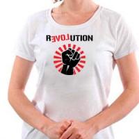 T-shirt Revolution Love