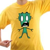 T-shirt Robot Panic