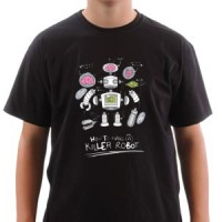 T-shirt Robot Specialized For Killing