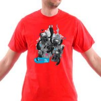 T-shirt Robots In Your City