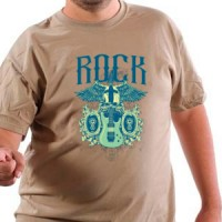 T-shirt Rock Guitar