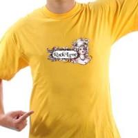 T-shirt Rock Love