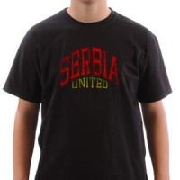 T-shirt Serbia United