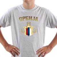 T-shirt Serbian Coat Of Arms