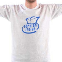 T-shirt Serbian Inside | Srbin