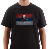 T-shirt Serbian Pirate