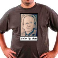 T-shirt Serbian politician