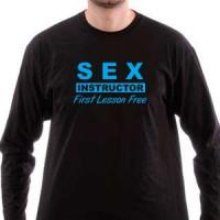 T-shirt Sex Instructor