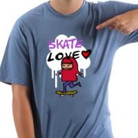 T-shirt Skate Love