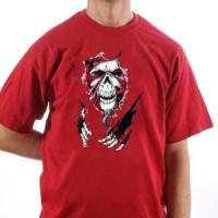 T-shirt Skull Through The Gap