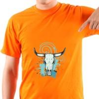 T-shirt Skull of a bull