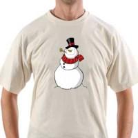 T-shirt Snowman