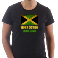 T-shirt Someone's life is a mother, and someone Jamaica