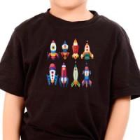 T-shirt Space Rockets