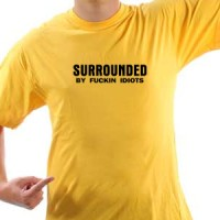 T-shirt Surrounded